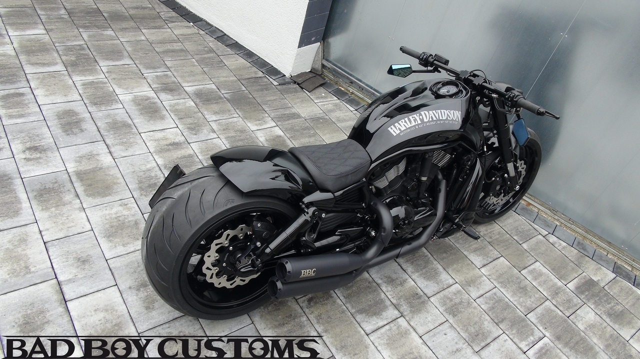 Harley Davidson V Rod Hd Flat Black